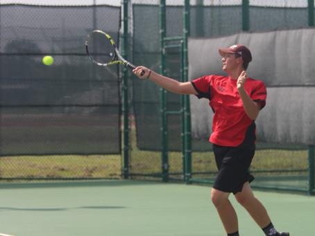 Varsity Tennis wins final tune-up