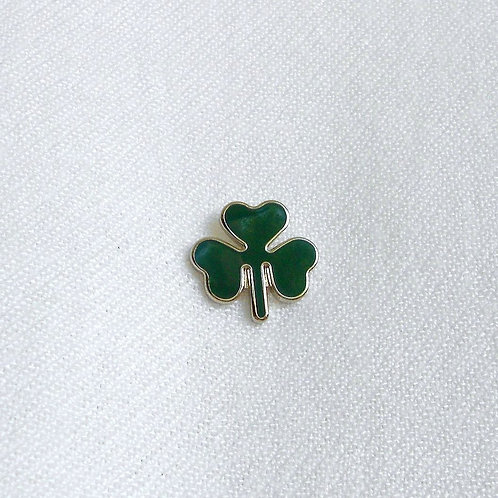 Shamrock Lapel Pin Badge