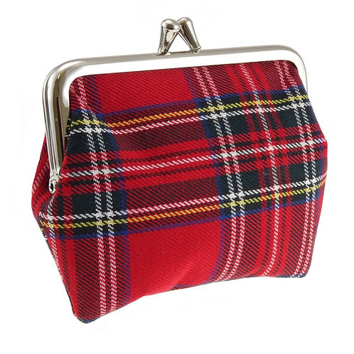 Royal Stewart Tartan Coin Purse