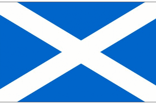 Scotland St Andrews Flag - Size Table, Small, Standard and Large