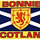 Thumbnail: Bonnie Scotland Flag - Size Table, Small and Standard