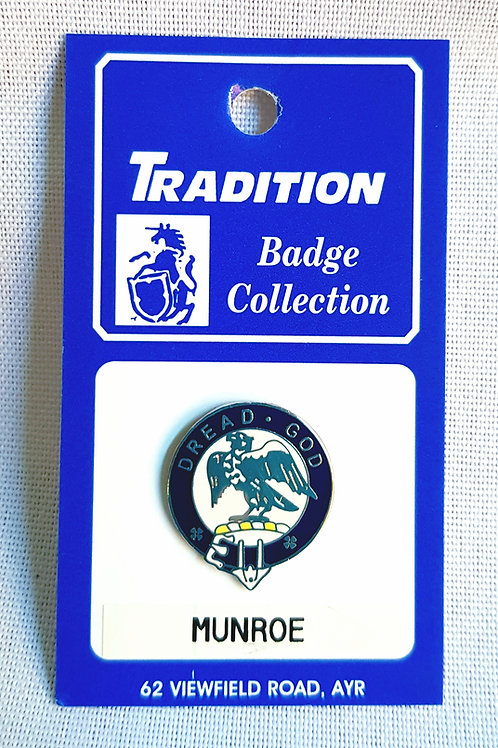 Clan Lapel Badge R- W