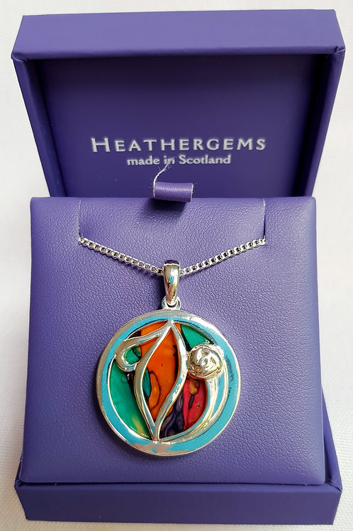 Heathergems MacKintosh Pendant Necklace