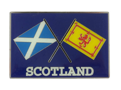 Scottish Flags Car Badge