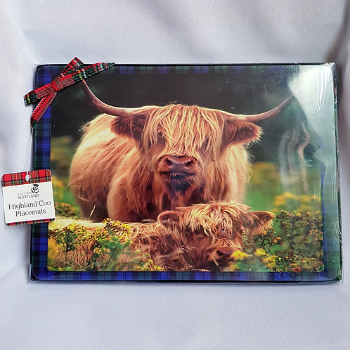 Highland Coo Placemats