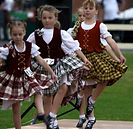 highland dancers
