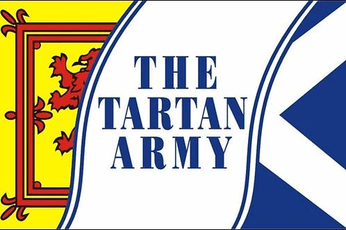 Tartan Army Flag
