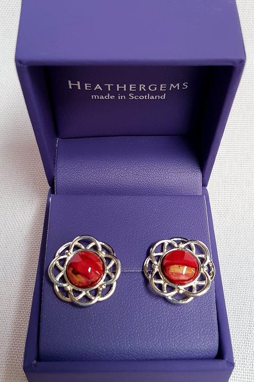 Heathergems Mor Stud Earrings