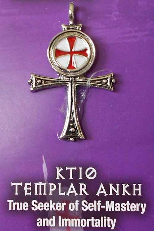 Templar Ankh Pendant Chain