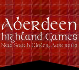 Aberdeen Highland Games NEW South Wales Australia