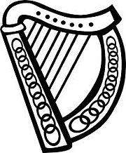 celtic harp symbol