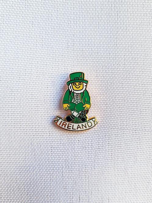 Leprechaun Ireland Lapel Pin Badge