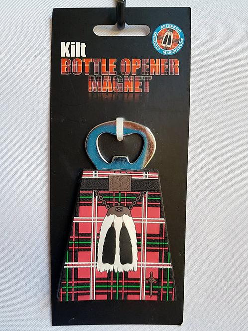 Kilt Bottle Opener Magnet