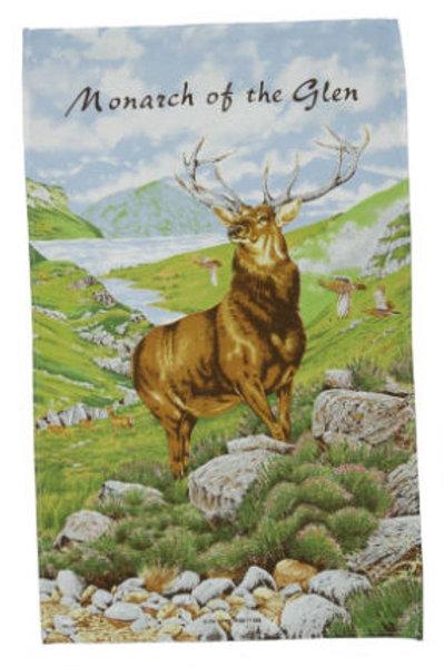 Monarch of the Glen Tea Towel