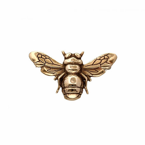 Bee Brooch Bronze