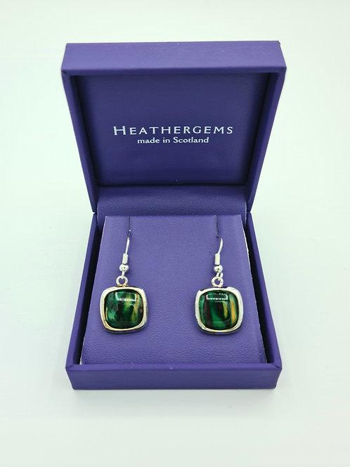 Heathergems Square Drop Earrings.