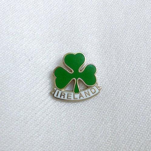 Shamrock Ireland Lapel Pin Badge