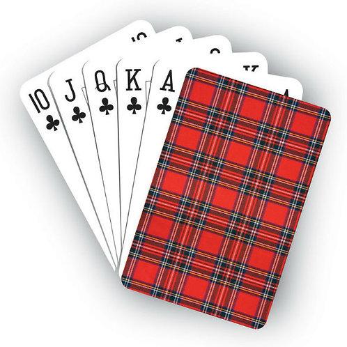 Playing Cards - Royal Stewart