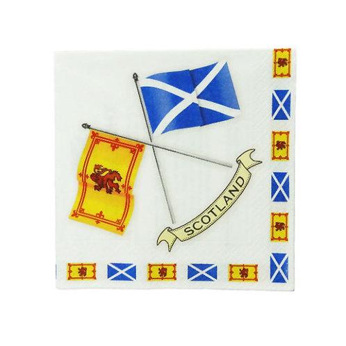 Scottish Flags Napkins