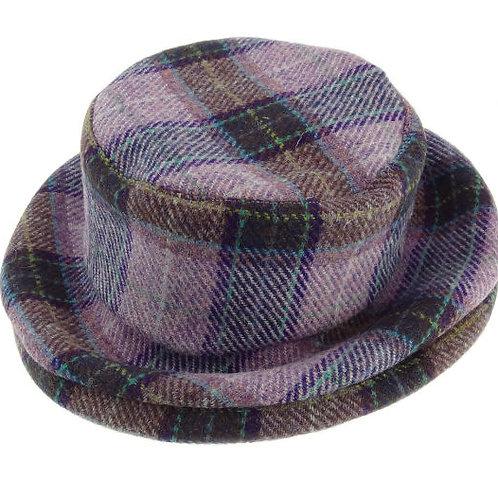 Harris Tweed Ladies Cloche Hat