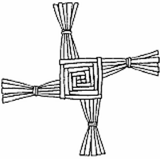 St. Brigid's Cross symbol
