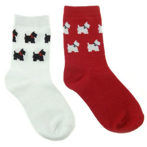 Children's Scottie Socks