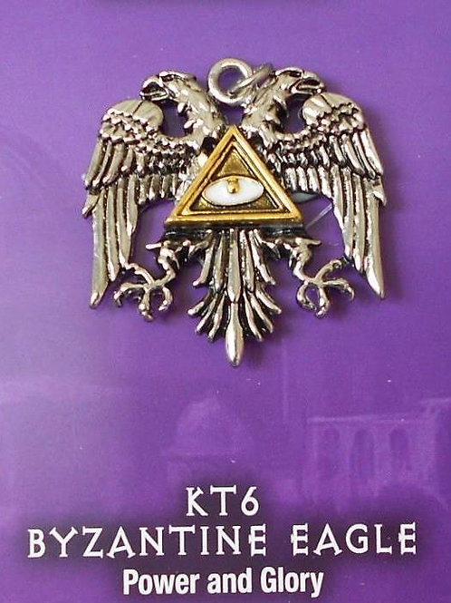 Byzantine Eagle Pendant Chain