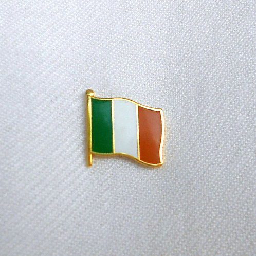 Irish Flag Lapel Pin Badge