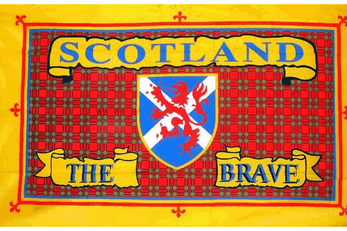 Scotland the Brave Flag - Size Small and Standard
