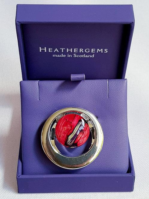 Heathergems Scarf Ring
