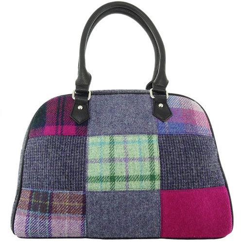 Harris Tweed Nairn Patchwork Bag