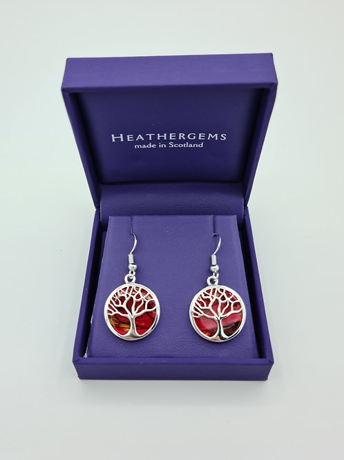 Heathergems Tree Of Life Earrings
