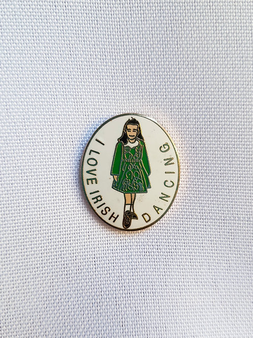 Irish Dancing Lapel Pin Badge