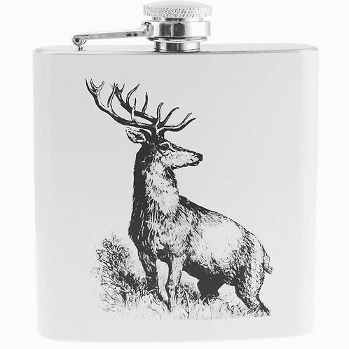 6oz Stag Hip Flask