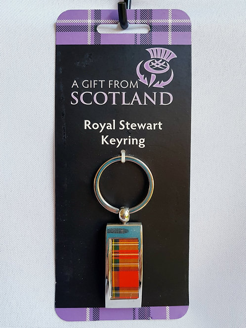 Royal Stewart Keyring