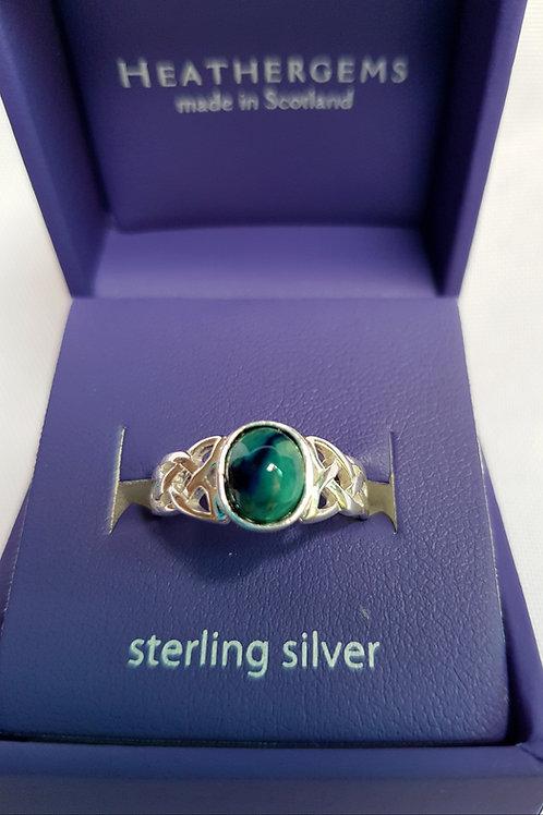 Heathergems Sterling Silver Celtic Knot Ring