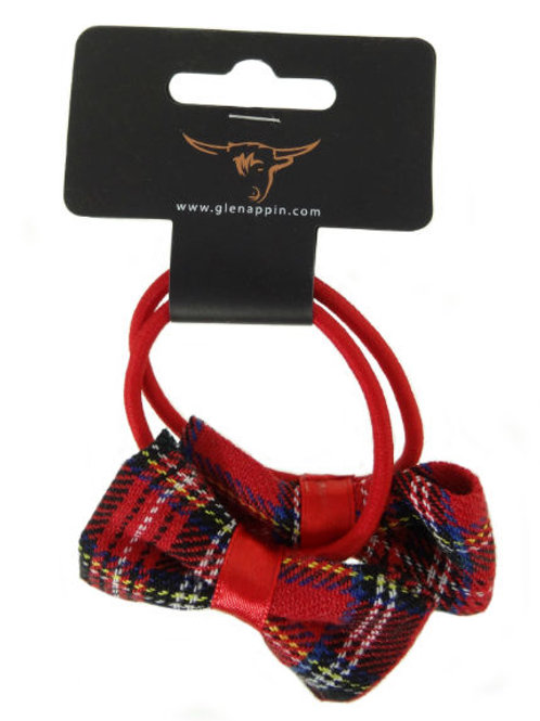 Pack of 2 Tartan Bow Ponios