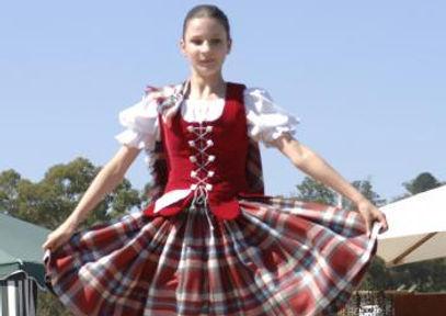 Highland Dancer at Ringwood Highland Games