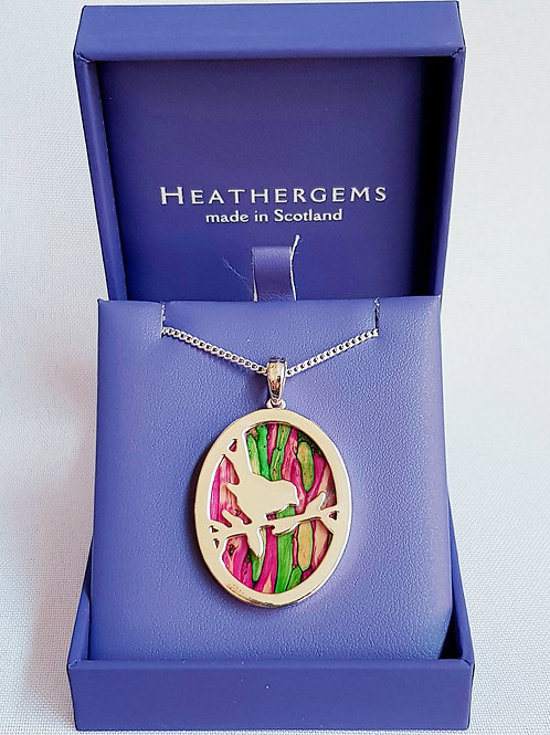 Heathergems Robin Pendant Necklace