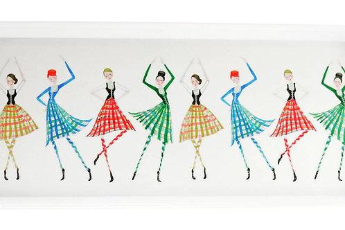 Highland Dancers Sandwich Tray