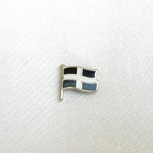 Cornish Flag Lapel Pin Badge