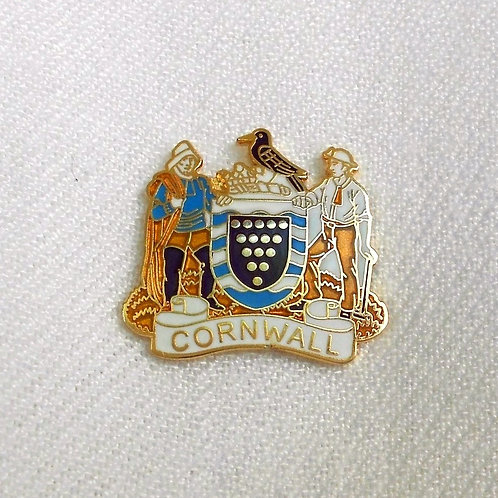 Cornish Coat of Arms Lapel Pin Badge