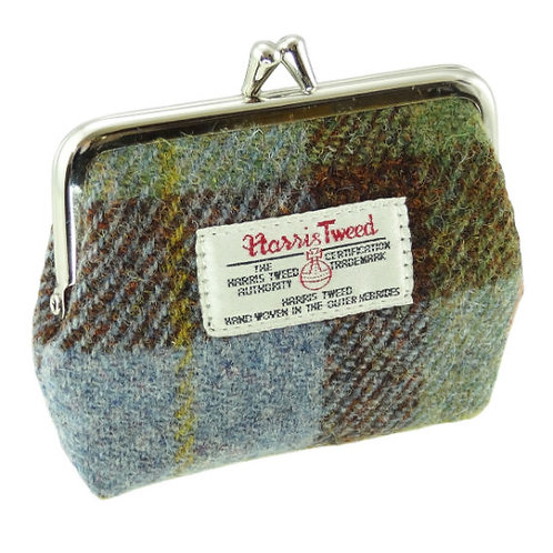 Harris Tweed Eigg Coin Purse