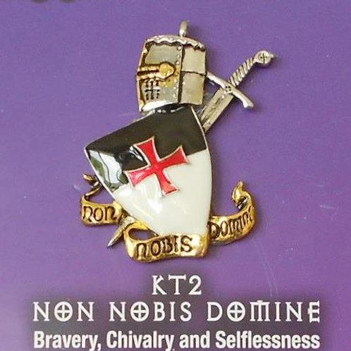 Non Nobis Domine Pendant Chain