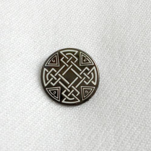 Celtic Knot Lapel Pin Badge