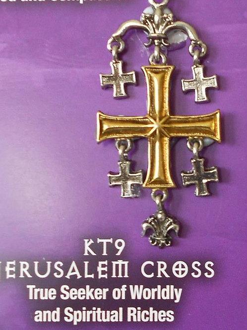 Jerusalem Cross Pendant Chain