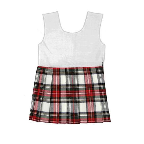 Tartan Bodice Kilt Dress Stewart