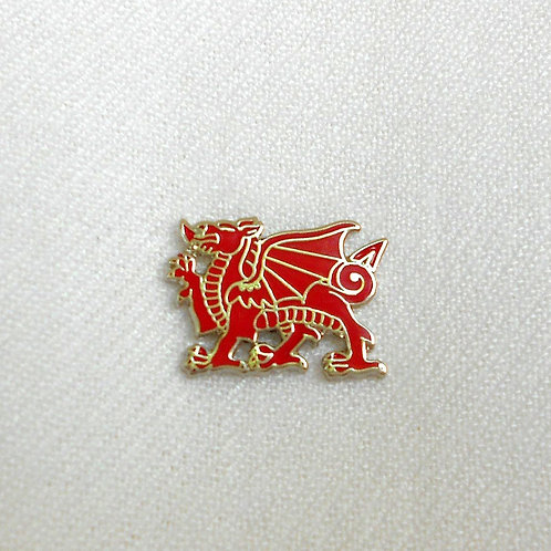 Welsh Dragon Lapel Pin Badge