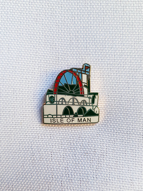 Isle Of Man Lapel Pin Badge