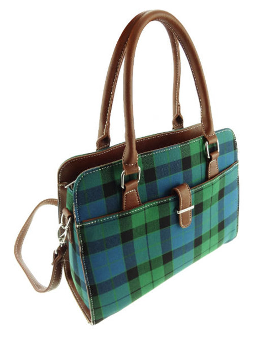 Mackay Tartan Handbag with Shoulder Strap
